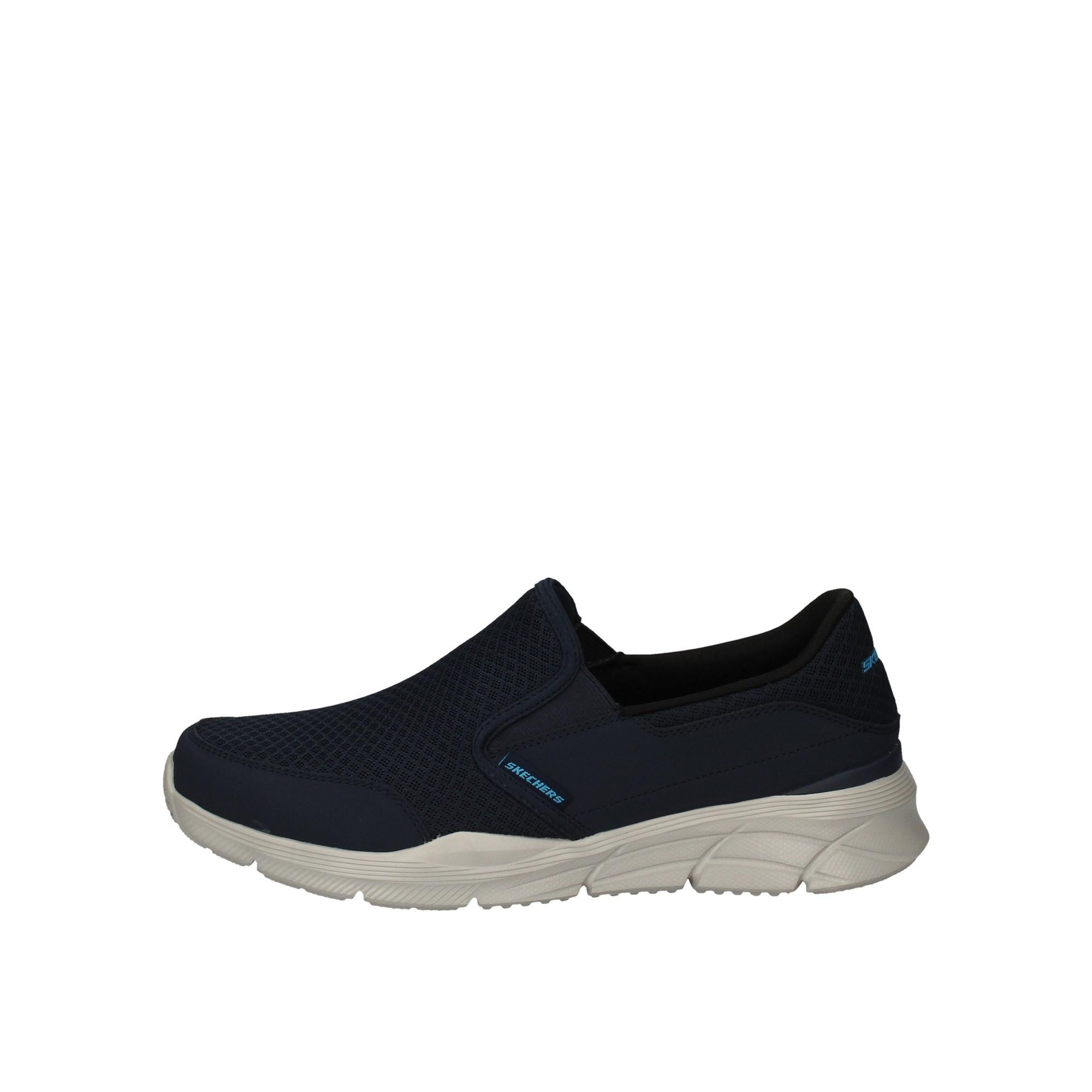 Skechers Slip On Blu | Slip On Uomo 100% Tessuto | Lalilina