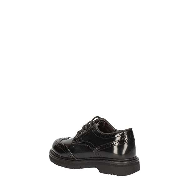 ASSO shoes with laces Black