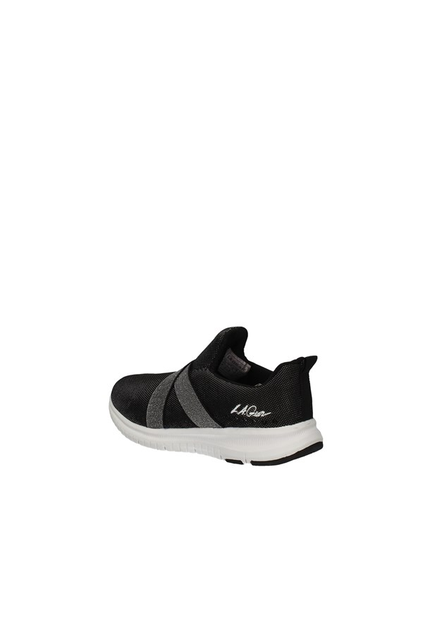 LA GEAR SLIP ON BLACK