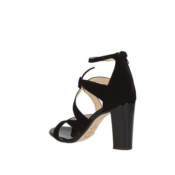 LINEA UNO With heel Black