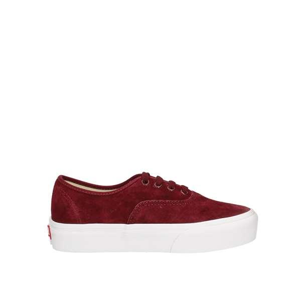 scarpe donna vans bordeaux