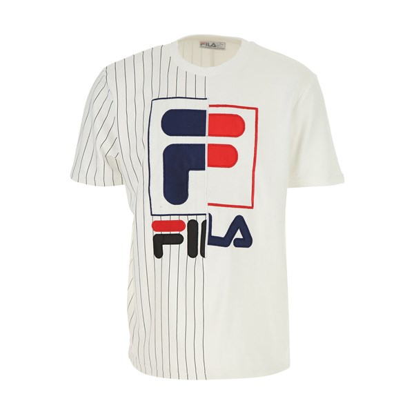 FILA Short sleeves WHITE
