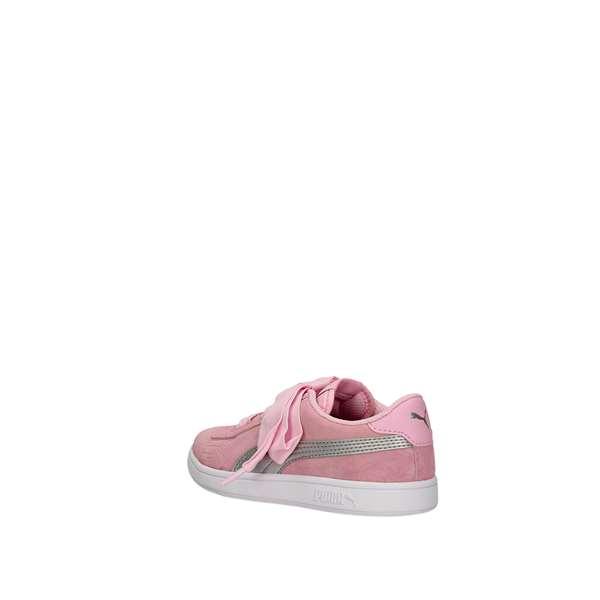 puma suede rosa bambina
