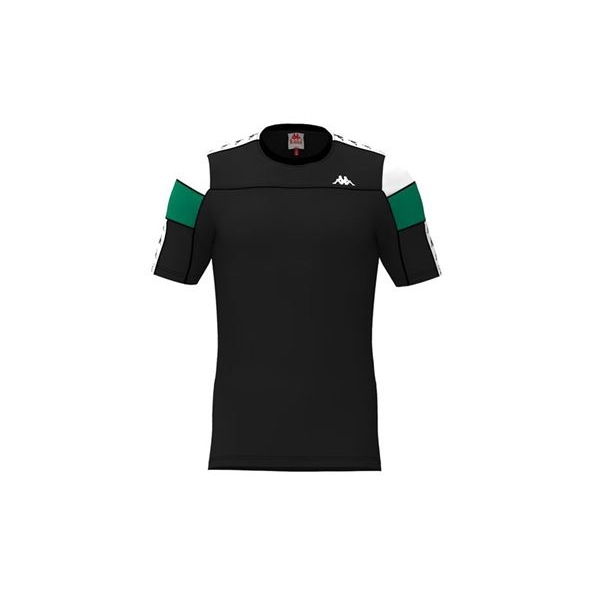 KAPPA Short sleeve BLACK