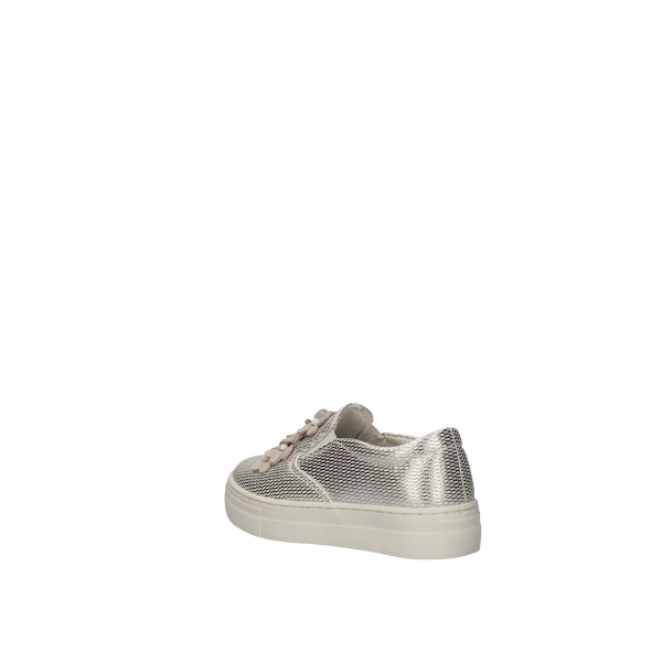 ASSO Loafers Silver