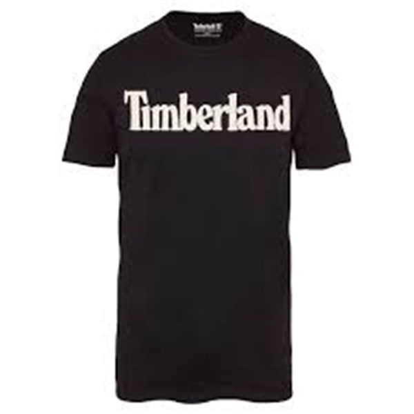TIMBERLAND Short sleeves BLACK