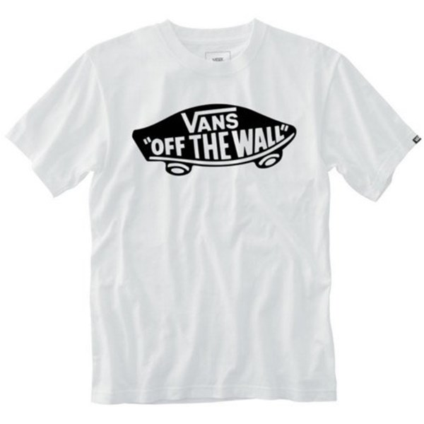 VANS Short sleeves WHITE