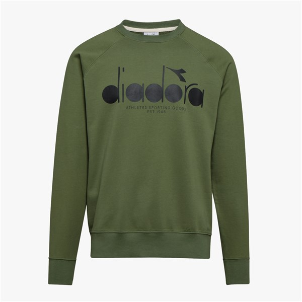 DIADORA crew-neck GREEN