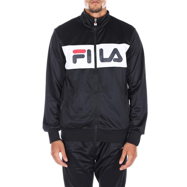 FILA crew-neck BLACK