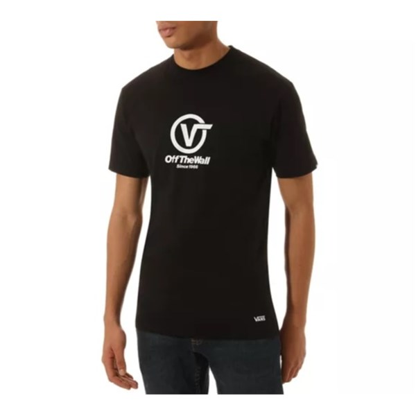 VANS Short sleeve BLACK