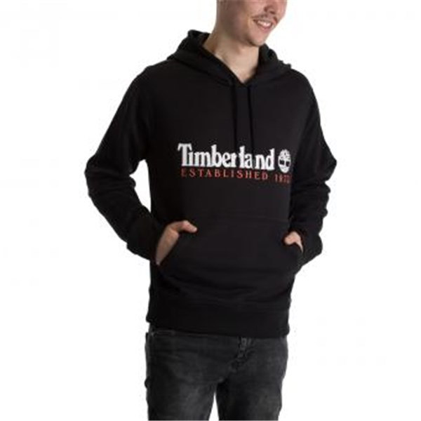 TIMBERLAND Hooded BLACK