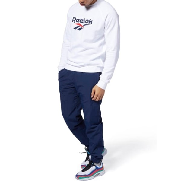REEBOK crew-neck WHITE