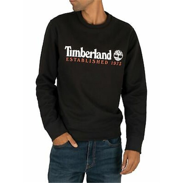 TIMBERLAND crew-neck BLACK