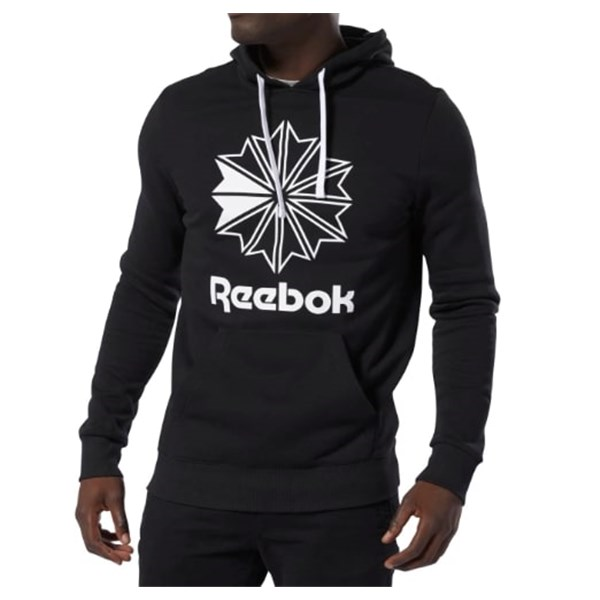 REEBOK Hooded BLACK