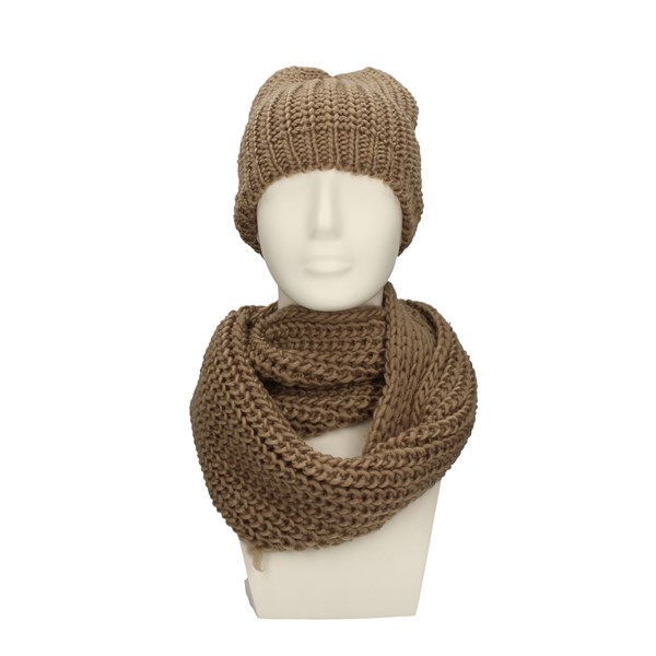CHARRO neck warmer BEIGE