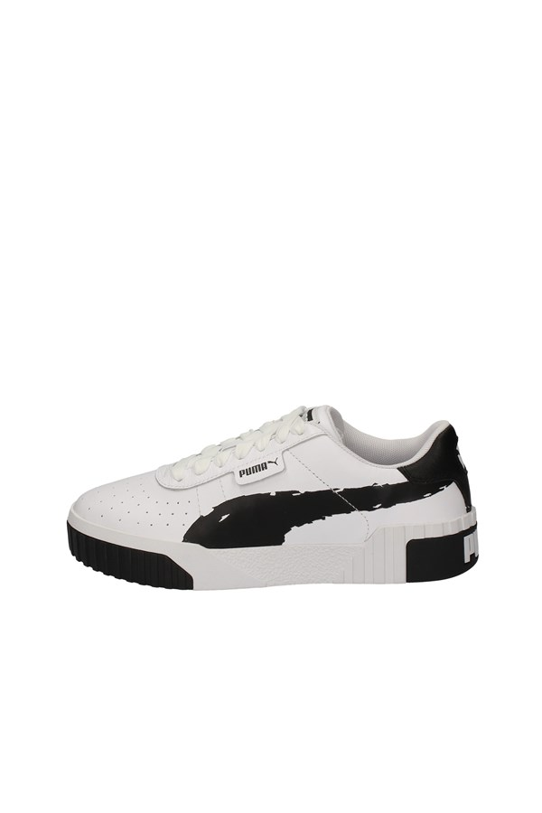 PUMA low BLACK AND WHITE