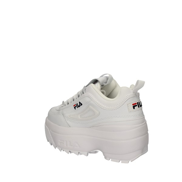 FILA With wedge WHITE