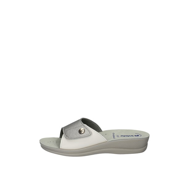 INBLULow shoes  slippers VR 45 SILVER