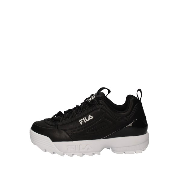 FILA  low BLACK