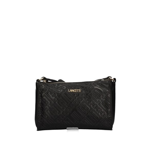 LANCETTI Shoulder Bags BLACK