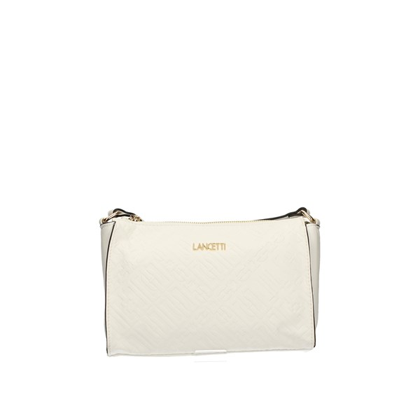 LANCETTI Shoulder Bags WHITE