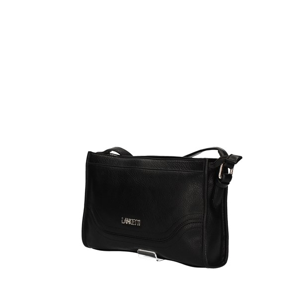 LANCETTI shoulder bag BLACK
