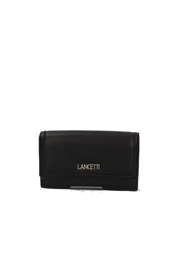 LANCETTI Banknote holder BLACK