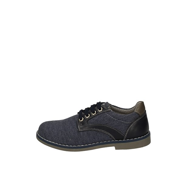 ASSO shoes with laces BLUE