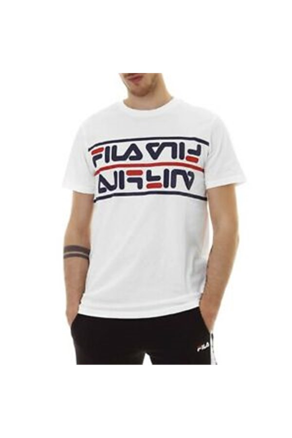 FILA Short sleeve WHITE