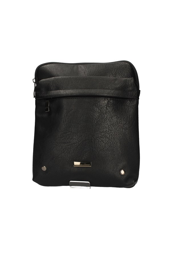 GIANMARCO VENTURI SHOULDER BAG BLACK