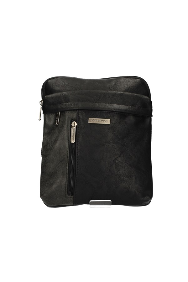 LOTTO SHOULDER BAG BLACK