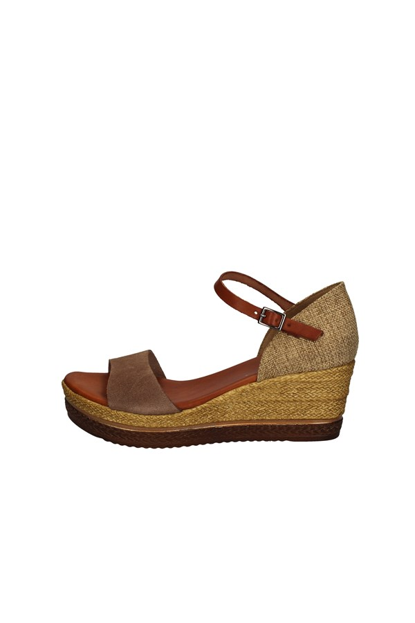 PORRONET With wedge TAUPE