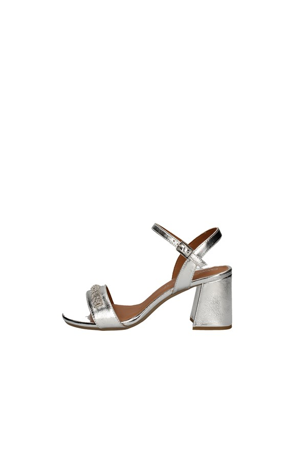 ANNALU' With heel SILVER