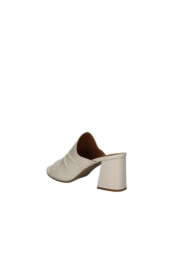 ANNALU' With heel WHITE
