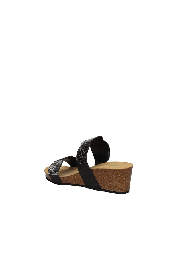 RIPOSELLA   With wedge BLACK