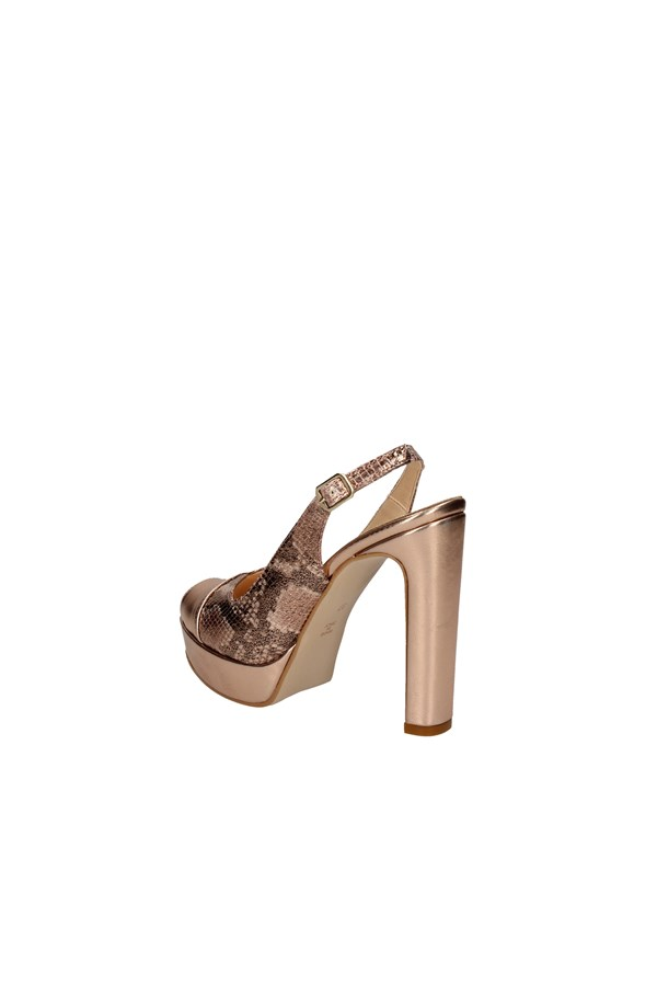 MARA PALMAS COLLECTION With heel COPPER