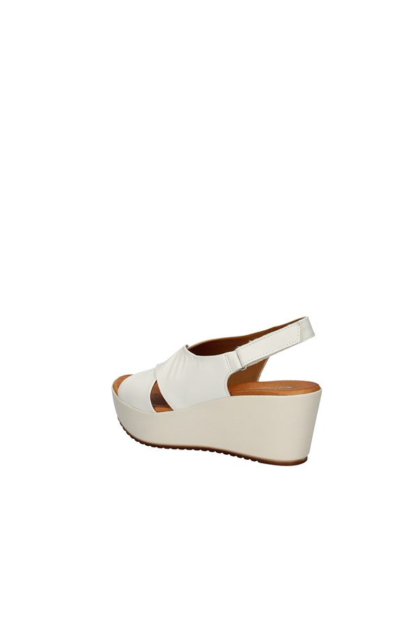 MILENA With wedge WHITE