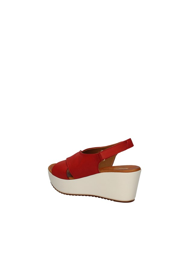 MILENA  With wedge RED