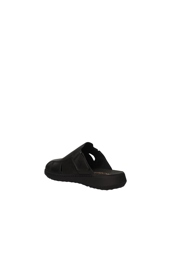 ROBERT slippers BLACK