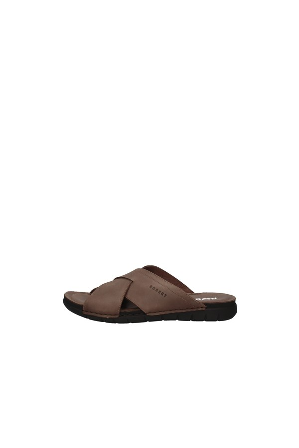 ROBERT slippers BROWN