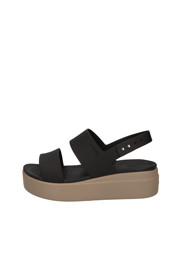 CROCS  With wedge BLACK