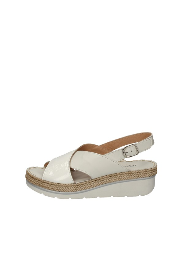 RIPOSELLA   With wedge WHITE