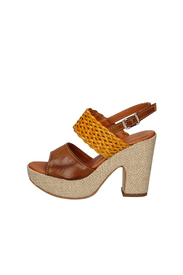 CINZIA SOFT With heel YELLOW