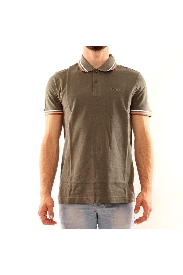 LOTTO Short sleeve MILITARY GREEN