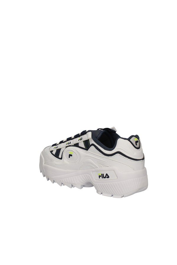 FILA low WHITE AND BLUE