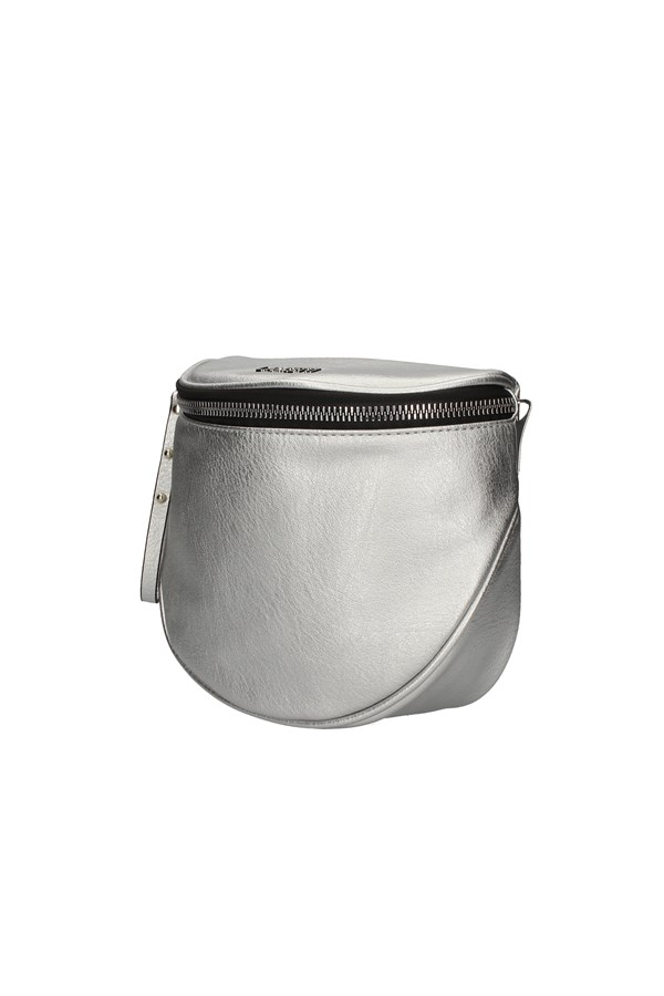 LANCETTI shoulder bag SILVER