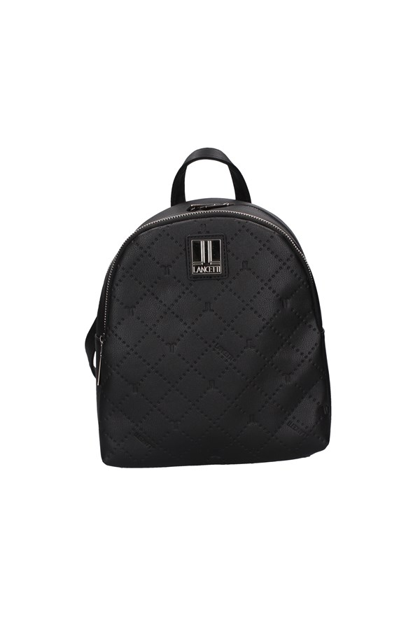 LANCETTI Backpacks BLACK