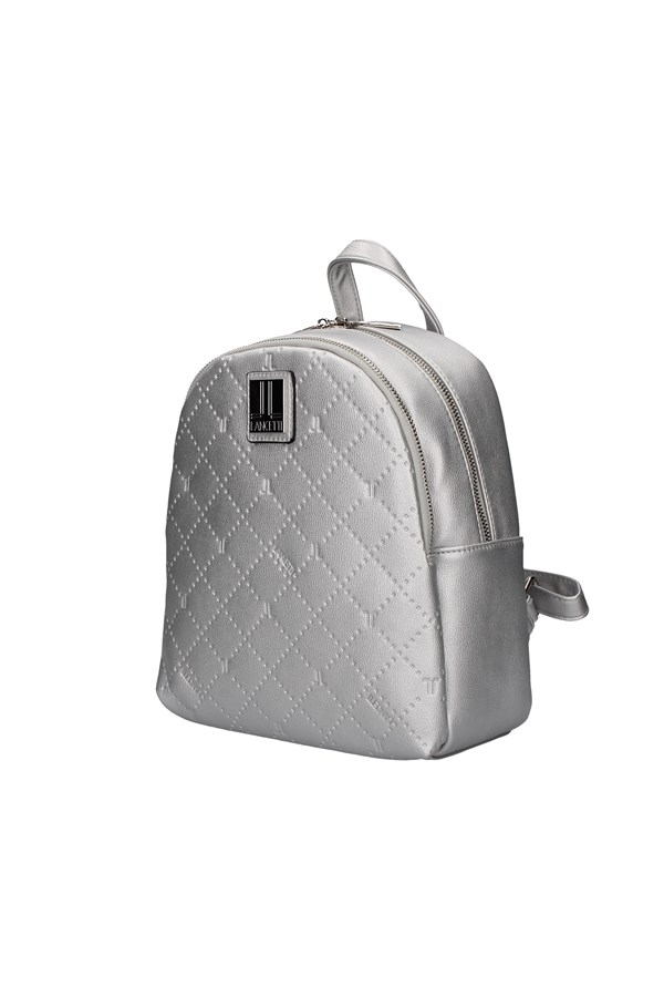 LANCETTI Backpacks SILVER