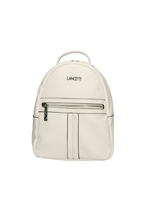 LANCETTI Backpacks WHITE