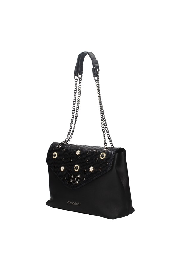 MARINA GALANTI SHOULDER BAG BLACK